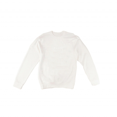 White Sweater Mannen Original