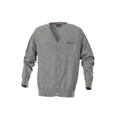 HARVEST AND FROST - Chançard Mannen cardigan - grijs
