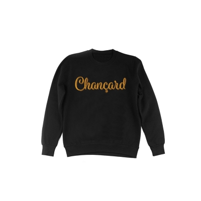 Chançard sweater mannen zwart/goud