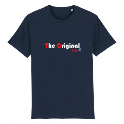 T-shirt Creator donkerblauw the Original You