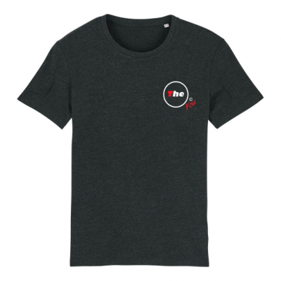 T-shirt Creator grijs-zwart The O You