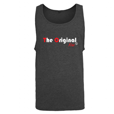 Jersey big tank donkergrijs The Original You