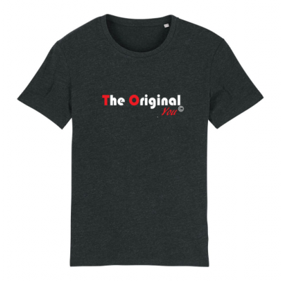 T-shirt Creator donkergrijs The original You