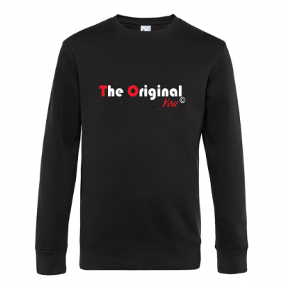 King Crewneck zwart Rood The Original You