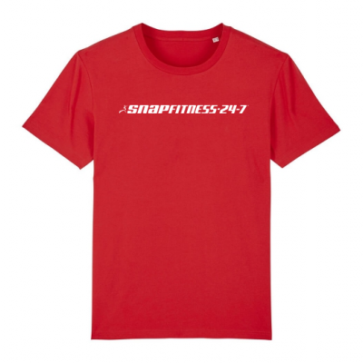 Rood heren t-shirt Snap Fitness