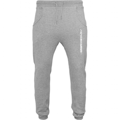 Grijze Heavy Sweatpants Snap Fitness Ingelmunster
