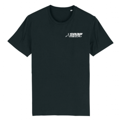 Zwart heren t-shirt Snap Fitness