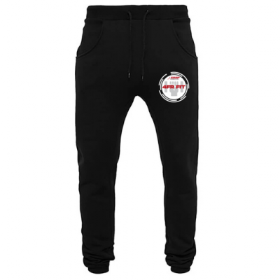 Zwarte Heavy Sweatpants Snap Fitness Ingelmunster