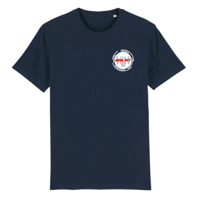 4FRFIT - Round White on Navy