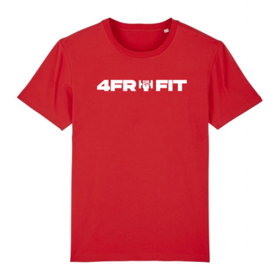 4FRFIT - White on Red