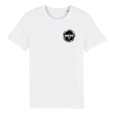 4FRFIT - Round Black on White
