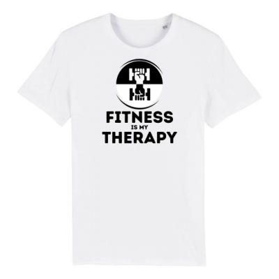 Fitness Therapy Big Black on White