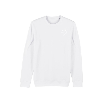 Alpha coach sweater wit mannen