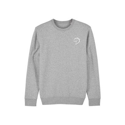 Alpha coach sweater grijs mannen