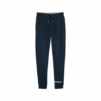 Navy snotaap pants