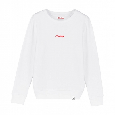 Witte Snotaap sweater