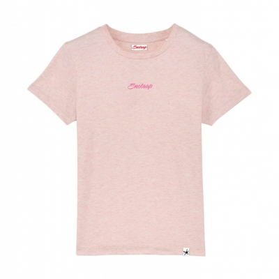 Heather roze Snotaap t-shirt