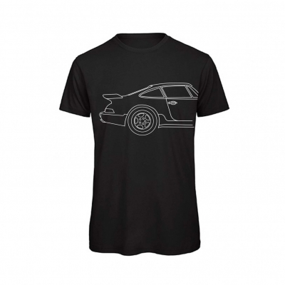 TommiWorks Media T-shirt Print Men Porsche Art